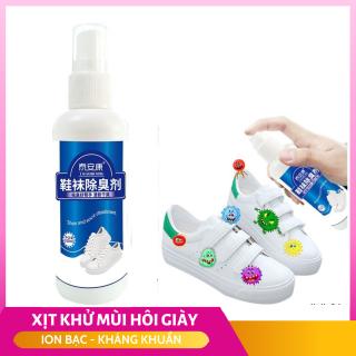 Bình xịt lưu hương, chống thối chân hôi giày, kháng khuẩn CHITIAN công nghệ Bạc ion 100ml -XHG001 thumbnail
