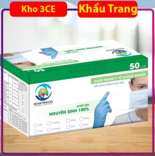 Khẩu trang y tế 4 lớp loại dày kháng khuẩn Khatraco - KHO3CE thumbnail