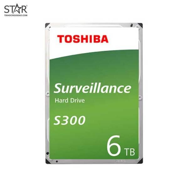 Bảng giá [HCM]Ổ cứng HDD Toshiba 6TB Surveilance S300 Chính Hãng (HDWT860UZSVA) Phong Vũ