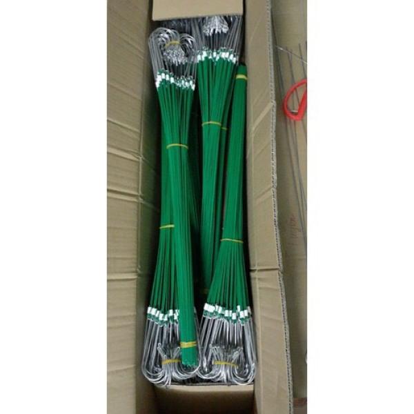 Bộ 50 móc kẽm bọc nhựa treo lan dài 80cm