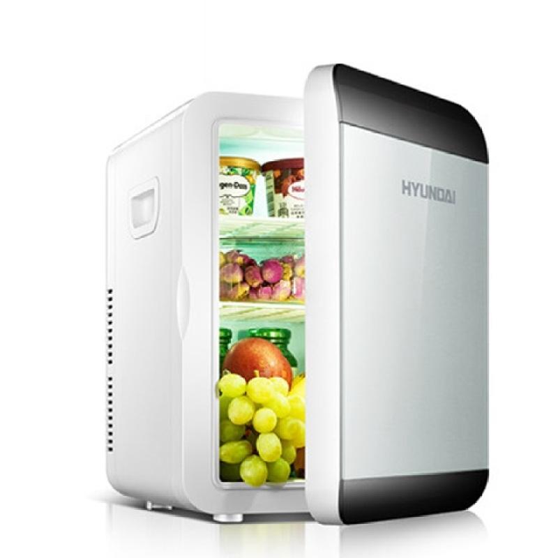 Tủ lạnh mini Hyundai 13.5L dùng trên ô tô và gia đình có 2 chiều nóng lạnh