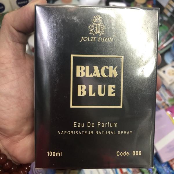 Nước Hoa Nam Jolie Dion Black Blue Eau De Parfum - Singapore (100ml)