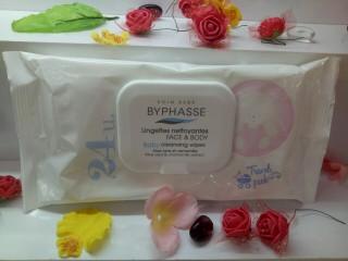 Khăn giấy ướt vệ sinh cơ thể bé Baby byphasse 24 miếng thumbnail