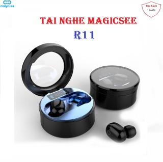Tai nghe Bluetooth Không Dây True Wrieless Magicsee R11 TWS - Công nghê chô ng nươ c IP67,khư ô n - Tư Đô ng Kê t Nô i thumbnail