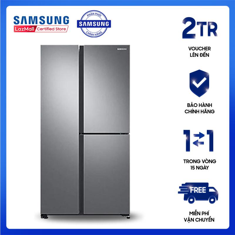 Tủ lạnh Samsung Inverter 670L RS63R5571SL/SV[Hàng chính hãng, Miễn phí vận chuyển]