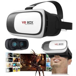( GIÁ RẺ HẤP DẪN )Kính Thực Tế Ảo Thế Hệ Mới Trắng Nhập Khẩu Cao Cấp- Kính Thực Tế Ảo VR BOX 2.0 Phiên Bản Nâng Cấp Đáng Giá Rẻ- Chơi Game Bằng Kính Thực Tế Ảo Loại Nào Tốt- Xem Phim 3D- Chất Liệu ABS+PU Cực Đẹp- Bền Bỉ, Bảo Vệ Mắt thumbnail