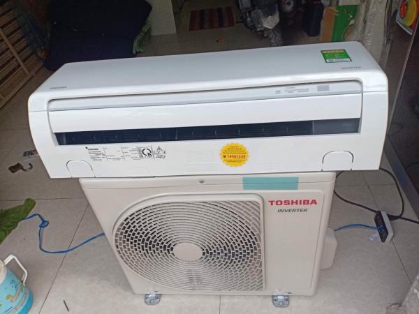 Máy lạnh toshiba inverter (tiết kiệm điện) máy sản xuất tháng 7/2020