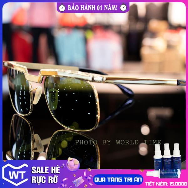 Giá bán Kính mát nam SL865 mắt kính cường lực cao cấp , full hộp , khăn , thẻ , bảo hành 12 tháng