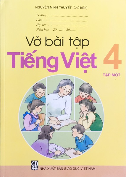 Sách GD - Vở bài tập Tiếng việt 4