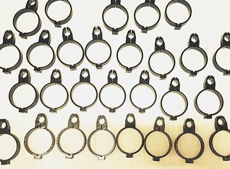 1 chiếc còng khóa ống kim loại 16x60