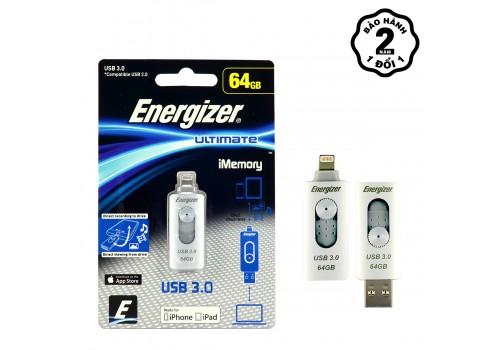 Giá Bộ nhớ USB OTG Energizer iMemory 64GB
