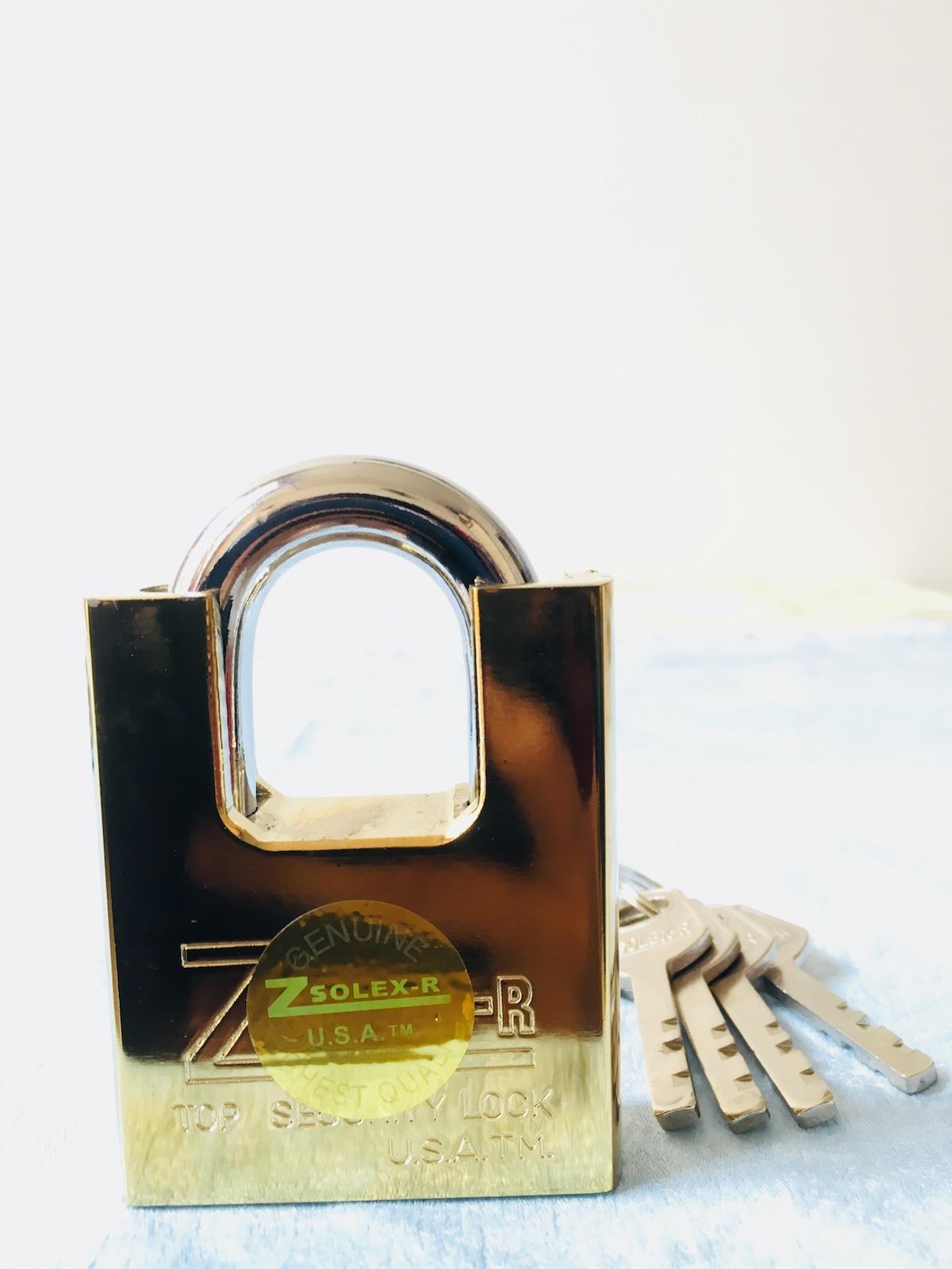 [HCM]Ổ KHOÁ CHỐNG CẮT SIZE ĐẠI 60F - ổ khóa chống trộm sử dụng dễ dàng không cần dùng lực chỉ cần vài thao tác xoáy nhẹ là bạn đã khóa xong.