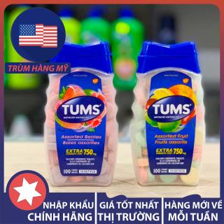Viên nhai dạ dày TUMS Extra Strength 750 của Mỹ 100 viên thumbnail