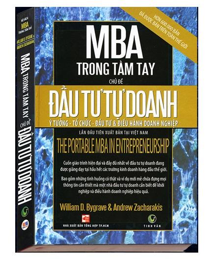 MBA Trong Tầm Tay - Đầu Tư Tự Doanh - Bìa Cứng Khổ Lớn Có Giá Tốt