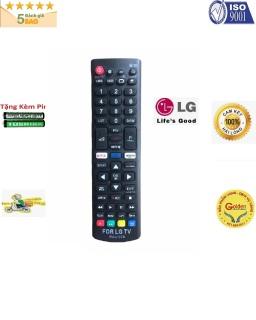 Điều khiển tivi LG RM-L1379 smart internet - tặng kèm pin - Remote LG RM-L1379 loại tốt thay thế tương thích hoàn toàn khiển zin theo máy 8