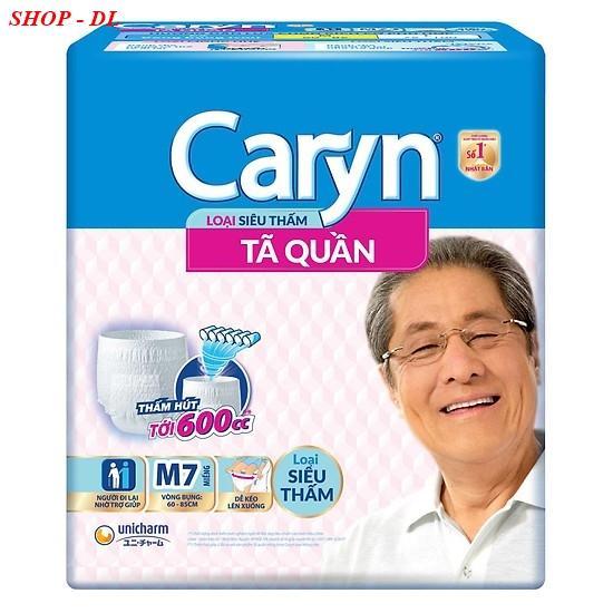 Tã quần siêu thấm Caryn M7 (vòng bụng 60 -85)