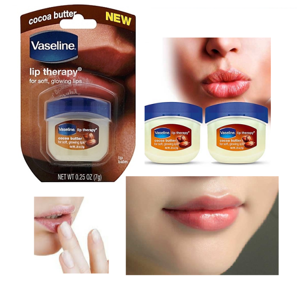 Son Dưỡng Môi Vaseline Lip Therapy Cocoa Butter 7g (Nâu) giá rẻ