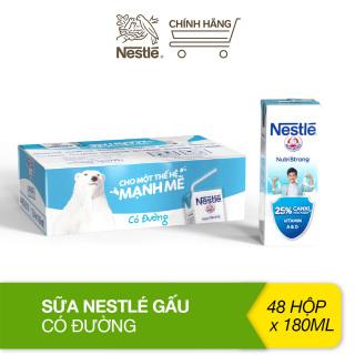 Thùng 48 hộp sữa Nestlé Gấu có đường (48x180ml) thumbnail