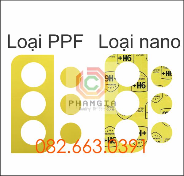 Cường lực camera Samsung S21 / S21 plus (S21+) ppf, nano trong suốt siêu bền