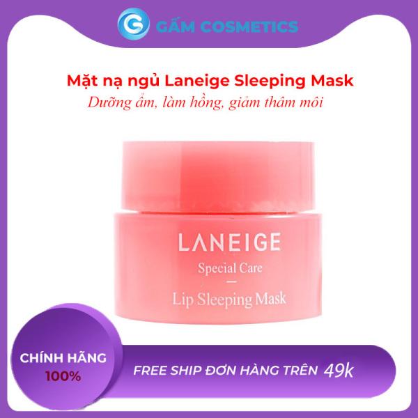 Mặt Nạ Ngủ Môi Laneige Lip Sleeping Mask 3g Son Dưỡng Hồng Làm Mờ Thâm Môi Giúp Môi Căng Mọng Mini Size Gấm Cosmetics