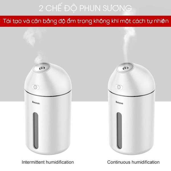 Máy phun sương tạo ẩm - lọc không khí mini Baseus Cute Mini (DHC9 -02)-Giao màu ngẫu nhiên