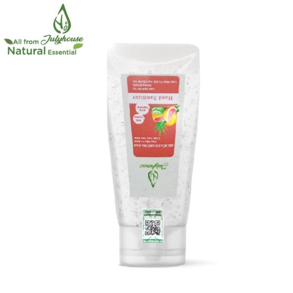 Gel rửa tay khô tinh dầu Bưởi Chùm và Nha Đam chai 35ml JULYHOUSE nhập khẩu