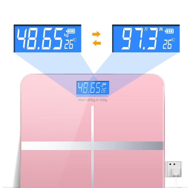 Siêu Tiết Kiệm Khi Mua Cân điện Tử Iphone Sang Chảnh 180kg - Màn Hình Hiển Thị Loại LCD