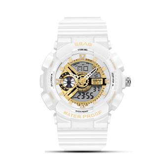 Đồng hồ - đồng hồ thẻ thao nữ - Đồng Hồ Nữ SBAO JAPAN S-8022A Sports - 2 Máy Kim và Điện Tử Mạnh Mẽ Dây Silicone Bền Chắc thumbnail