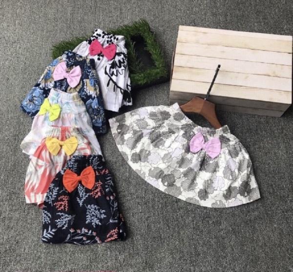 Giá bán HÀNG SHOP - Chân Váy Bé Gái Đáng Yêu - Có Kèm Chip