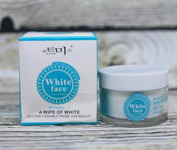 Kem Trắng Da Chống Nắng White Face SPF50 (50g) 03 giá rẻ