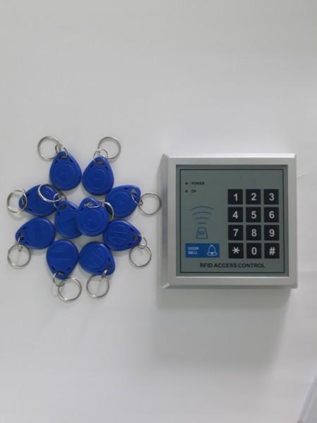 Đầu đọc thẻ từ RFID và bàn phím số tần số + 10 thẻ từ