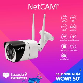 Camera IP Wifi Giám Sát Ngoài Trời NetCAM NTL5.0 5MP - Hãng Phân Phối Chính Thức thumbnail