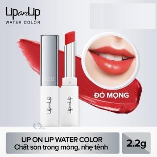 (đỏ mọng 2024) Son trang điểm dưỡng tối ưu Lip On Lip Water Color thumbnail