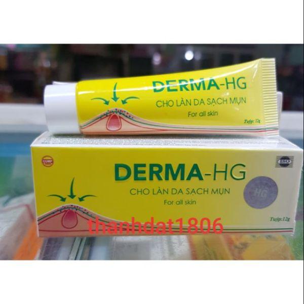Derma_HG cho làn da sạch mụn demar hg cao cấp