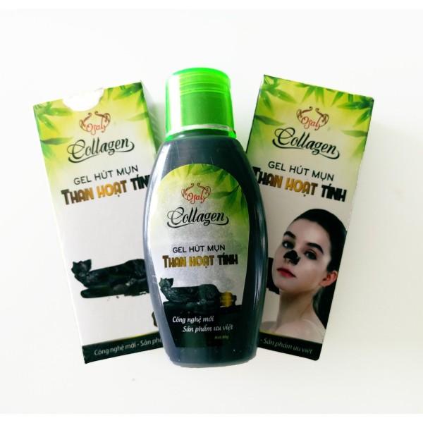 Gel hút mụn than tre hoạt tính tuýt lớn - gel lột mụn tinh chất than tre - gel hút mụn trà xanh - dưỡng da chăm sóc da mặt