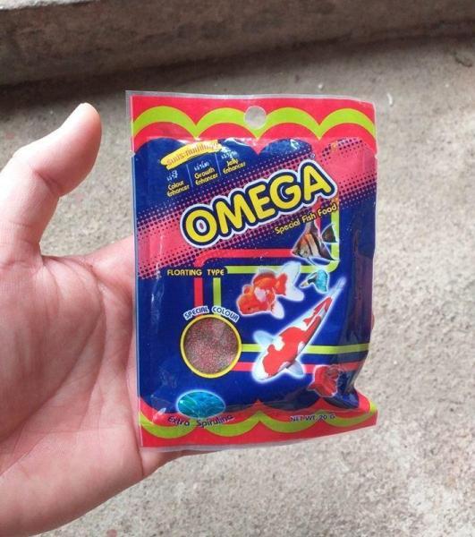 Thức ăn cho cá cảnh nhỏ Omega