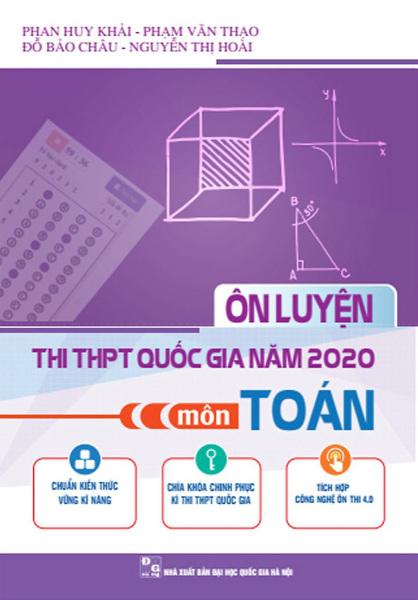 Mua Ôn luyện thi THPT quốc gia năm 2020 môn Toán