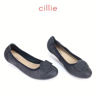 Giày Búp bê da thật Cillie 1091