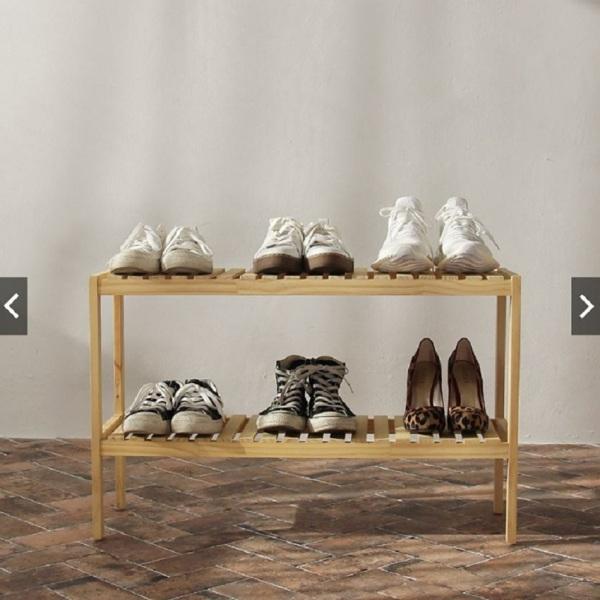 Bảng giá KỆ GỖ TRANG TRÍ ĐA NĂNG DÀI 80CM- Gỗ thông sơn PU,Chống nấm mốc,Giảm ồn. Kệ gỗ đa năng, giá để đồ, kệ giày 2 tầng, HONA SMART Phong Vũ