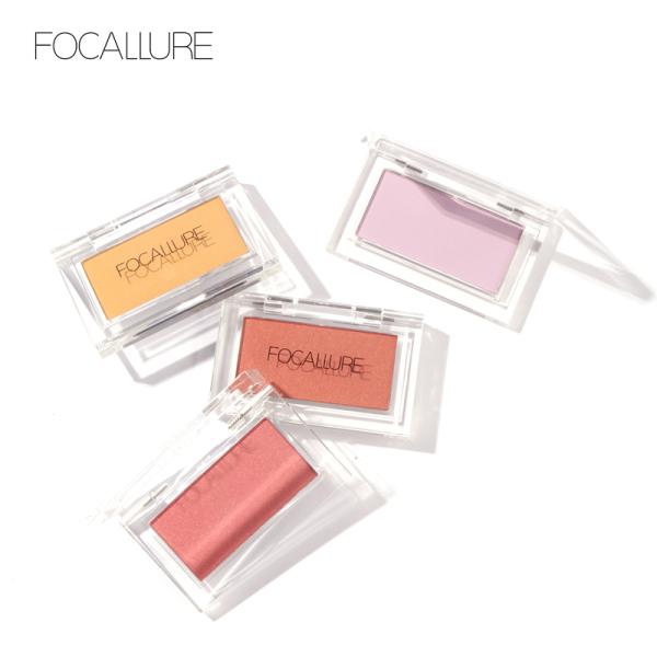 Phấn trang điểm má hồng FOCALLURE dạng nén mềm mịn lên màu tự nhiên dễ sử dụng (Vui lòng chọn đúng sản phẩm theo nhu cầu sử dụng) - INTL