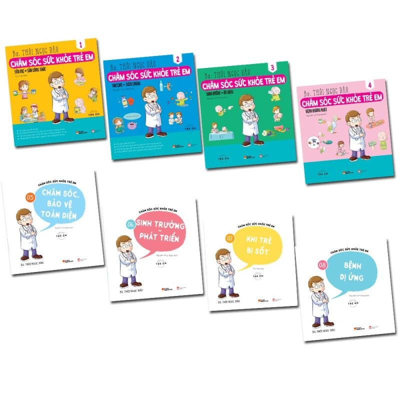 Sách - Chăm sóc sức khỏe trọn bộ 8 cuốn - có mã lẻ(bộ 1 (tập 1 ,2 ,3,4))