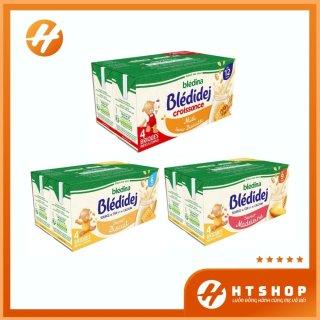 Sữa Nước Bledina Pháp Sánh Mịn Thơm Ngon Cho Bé Từ 6 Tháng Tuổi (Lốc 4 Hộp x 250ml) thumbnail