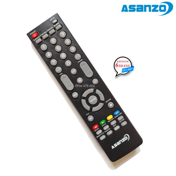 Bảng giá Remote điều khiển tv Asanzo LED mẫu 2