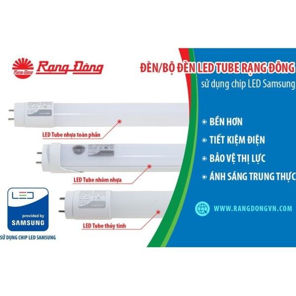 Bóng Đèn Led Tube Rạng Đông Cao Cấp, Chipled Samsung