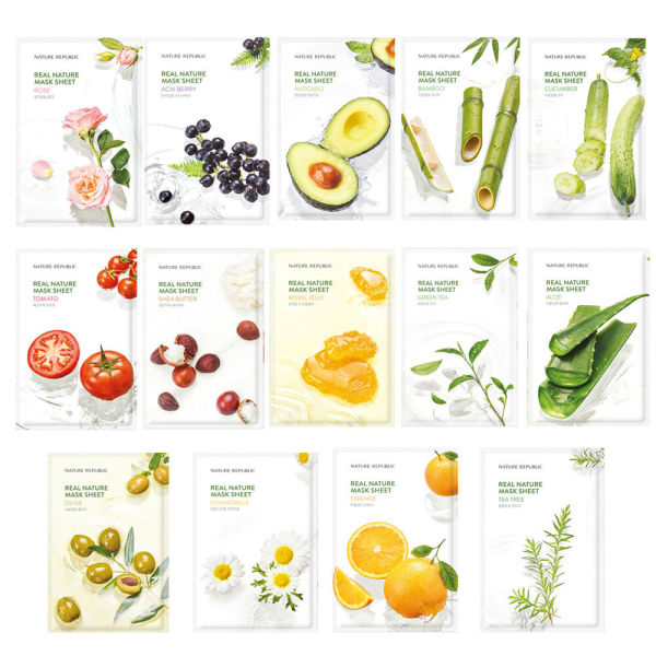 Mặt nạ giấy Nature Republic - Real nature mask 20ml