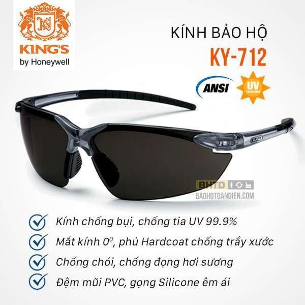 Giá bán Kính bảo hộ chống tia UV King KI 712