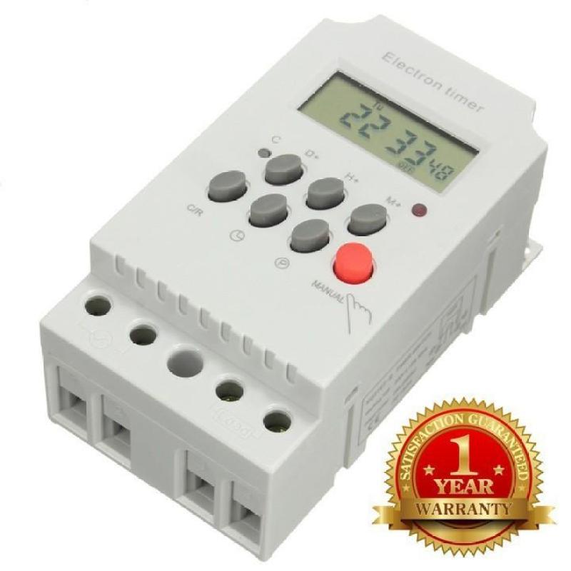Công tắc timer hẹn giờ tắt mở thiết bị điện tự động KG316T-II (25A/220V) 17 chương trình