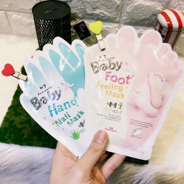 Mặt nạ ủ da tay, da chân Baby Foot Peeling Mask Thái Lan (lẻ 1 miếng)