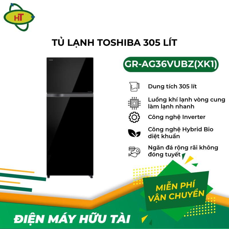 Tủ lạnh Toshiba 305 L GR-AG36VUBZ(XK1)
