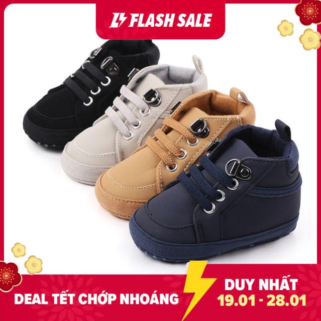Đôi giày thể thao chống trượt (có nhiều màu để lựa chọn) cho trẻ sơ sinh - INTL giá rẻ
